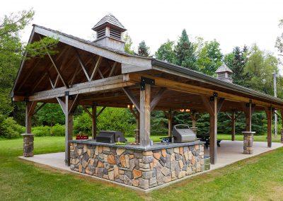 Outdoor BBQ at Cedar Springs
