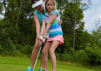 Learning to putt at Cedar Springs