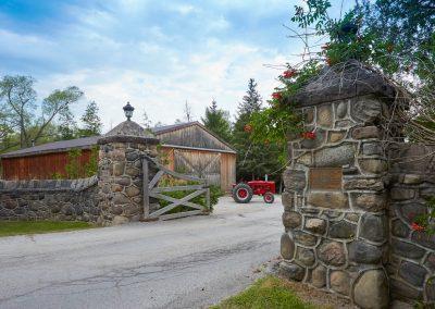 Front gates at Cedar Springs