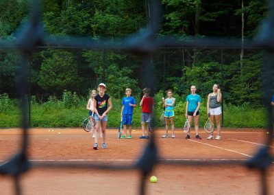 Kid's tennis lessons at Cedar Springs