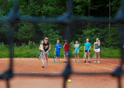 Kid's tennis lessons at Cedar Springs