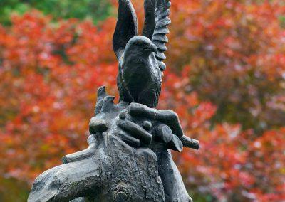 Outdoor carving at Cedar Springs