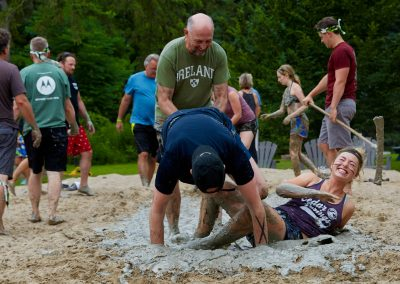 Getting down and dirty at the Tough Mudder annual event