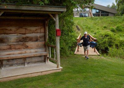 The first hole at Cedar Sprnigs