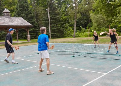 Pickle ball at Cedar Springs